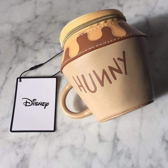 ab4c77a4 Disney Bags | New Primark Winnie The Pooh Hunny Zip Purse | Poshmark